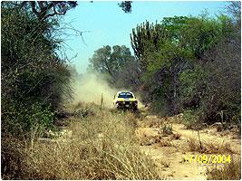 Incursión de rallystas en la zona sur de Amotocodie