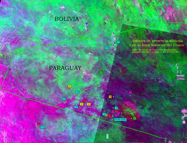Senales de los aislados en NorOeste del Chaco paraguayo