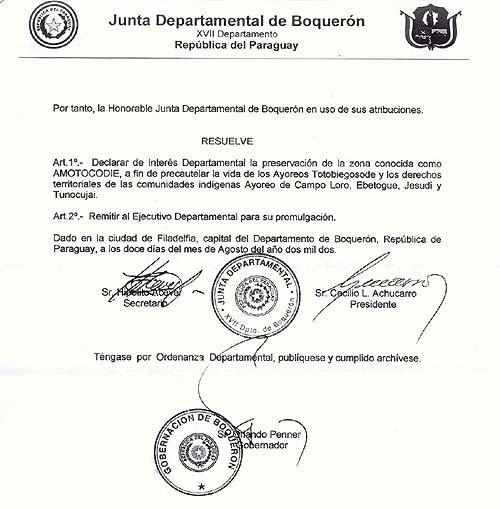 Ordenanza Departamental Nº 02/02 Pagina 2