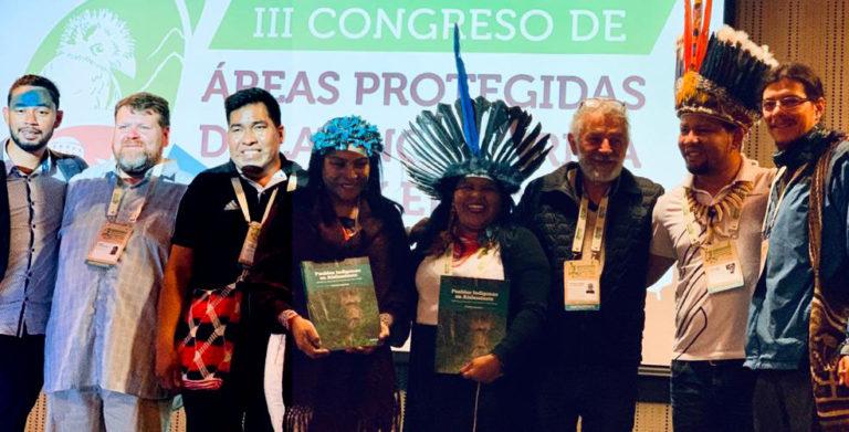 ÁREAS PROTEGIDAS Y AYOREO AISLADOS. PRESENTACIÓN DE IA Y LA UNAP EN EL III CONGRESO DE ÁREAS PROTEGIDAS DE AMERICA LATINA Y EL CARIBE DESARROLLADO EN LIMA